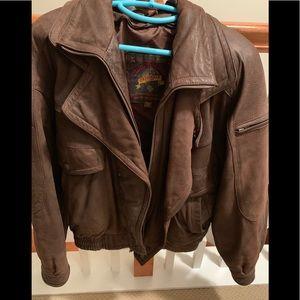 Wilson's Genuine Leather Bomber Jacket